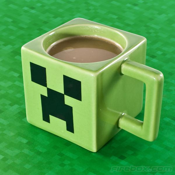 Minecraft Inspired Coffee Mug Gadgetsin