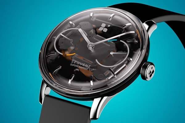 Sequent Kinetic Self-Charging Smartwatch | Gadgetsin