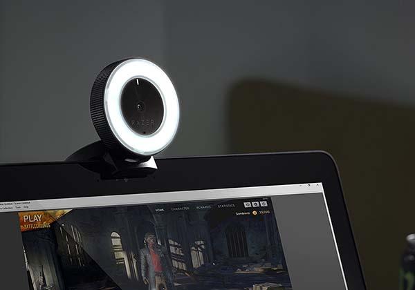Razer Kiyo Live Stream Camera with Built-in LED Ring Light