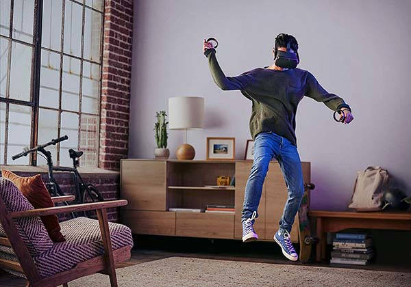 Oculus Quest All In One Vr Gaming Headset Gadgetsin