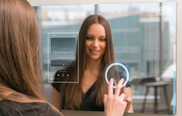 alexa smart mirror