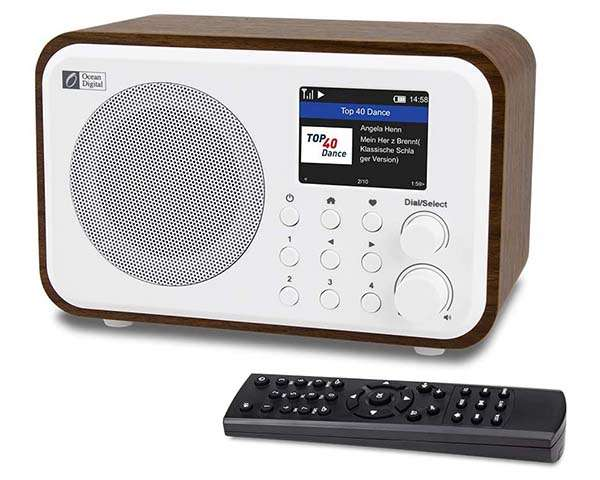 Ocean Digital WR-336N WiFi Internet Radio with Bluetooth ...